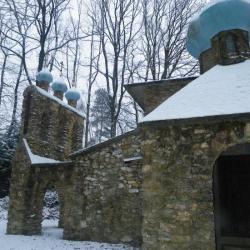 SKIT DU SAINT ESPRIT  (église orthodoxe) en hiver